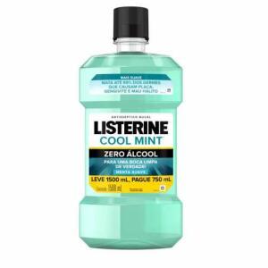 Antisséptico Bucal Listerine Cool Mint Zero Álcool - R$20