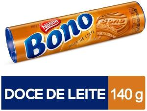 [Leve 4 Unidades] Biscoito Recheado com Doce de Leite Bono 140g R$ 5