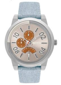 Relógio Mormaii Masculino On The Road Urban Prata - MOJR10AC/2L | R$149