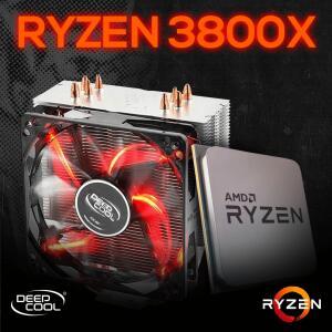 Ryzen 7 3800x + Cooler Deepcool Gammax 400 | R$1999