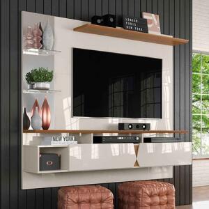 [C. Shoptime] Painel para TV Intense Lukaliam Off White   R$416