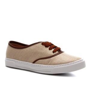 Tênis Shoestock Natural Sneaker Feminino