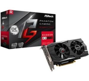 Placa de Video Asrock Phantom Gaming D Radeon RX570 8G OC, GDDR5 - R$999