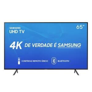 Smart TV LED 65'' UHD 4K Samsung 65RU7100 | R$3.115