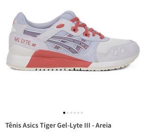 Tênis Asics Tiger Gel-Lyte III - Areia - R$95