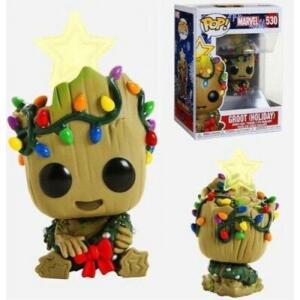 Funko Pop Groot Holiday Marvel | R$76