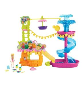 Parque Aquático Dos Abacaxis Polly Pocket Mattel Multicor - R$200