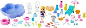 Festa Na Piscina, Polly Pocket, Mattel, Multicolorido Mattel Multicolorido R$ 80