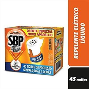 [PRIME] Kit SBP Repelente Elétrico Líquido Com Aparelho e Refil | R$12