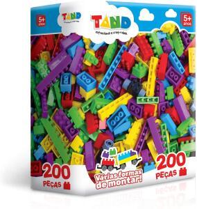 [Prime] Toyster Tand Blocos de Montar, 200 Peças R$ 58