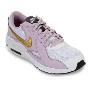 Tênis Nike Air Max Excee - Branco e dourado