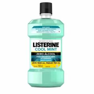 Antisséptico Bucal Listerine Cool Mint Zero Álcool 1,5L