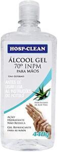 Alcool Gel - 70% 440 ml - R$27