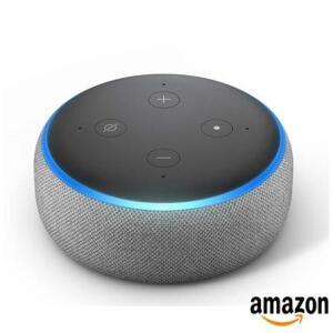 Smart Speaker Amazon com Alexa Cinza - ECHO DOT