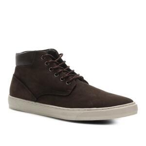Bota Couro Shoestock Cano Médio Masculina   R$122