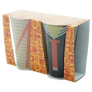 Jogo de Copos - Chaves e Kiko 300ML - URBAN - R$12