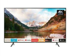 "Smart TV 4K LED 43"" Samsung UN43RU7100 Tizen-Wi-Fi Bluetooth HDR 3 HDMI 2 USB | R$1395"