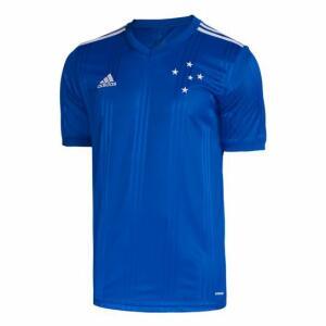 Camisa Cruzeiro I 20/21 s/nº Torcedor Adidas Masculina - Azul | R$160