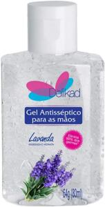 Gel Antisséptico 70% Lavanda 80 ml - R$7