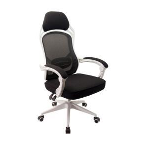 Cadeira Escritório Presidente Tela Mesh Gamer Branca Conforsit 4534 - R$513