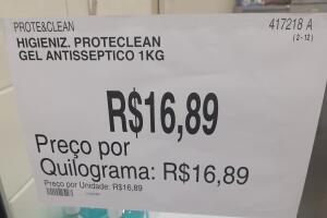[Loja física] Higienizador Proteclean 1Kg - Sam's Club Guarulhos