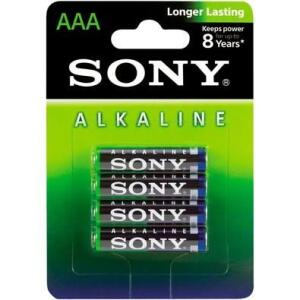 Pilha Alcalina Sony AAA AM4L-B4D (4 Pilhas AAA)