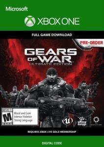 Gears of War: Ultimate Edition Xbox One | Mídia Digital
