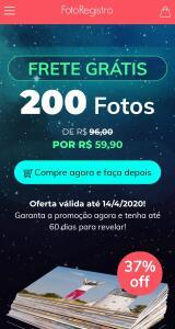 FRETE GRÁTIS 200Fotos DE R$96,00PORR$59,90
