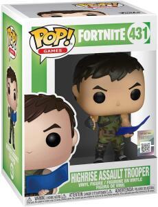 Funko Pop Games Fortnite Highrise Assault Trooper   R$59