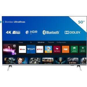 "Smart TV Philips 4K UHD 50"" 50PUG6654/78 | R$1.709"