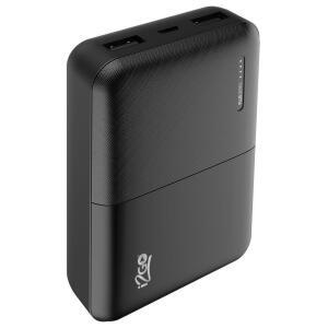 Carregador Portátil I2GO 10000mAh e 2 Saídas USB - Preto R$ 69
