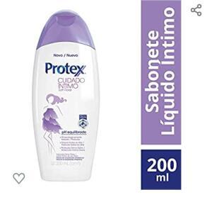 (PRIME) Sabonete Íntimo Líquido Protex Cuidado Íntimo Soft Floral 200ml