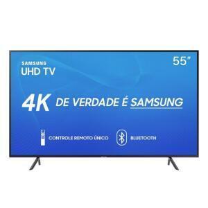 Smart TV LED 55'' UHD 4K Samsung 55RU7100 | R$2.120