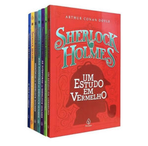 Kit 7 livros Sherlock Holmes