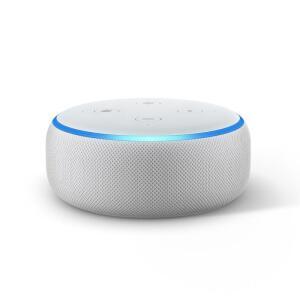 Echo Dot Amazon Smart Speaker Branco Alexa 3a Geração em Português | R$ 224,72
