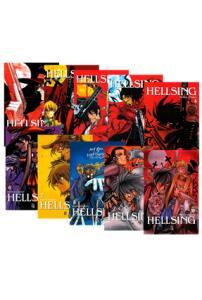 Coleção Hellsing - Vol. 1 ao 10