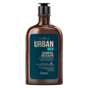 Shampoo Farmaervas Urban Anticaspa Men - 240ml | R$ 15