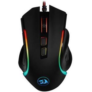 Mouse Gamer Redragon 7200DPI, RGB, Griffin - M607 | R$ 93