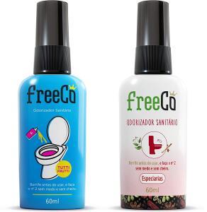 Bloqueador de Odores Sanitarios 60ml [Freecô Especiarias ou Tutti-Frutti]