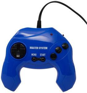 Master System Plug & Play com 40 Jogos na Memória - Azul | R$60