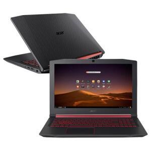 Notebook Acer Aspire Nitro 5 AN515-52-75GW Core i7 8ª Geração 16GB HD 1 TB SSD 128 GB R$4.299