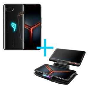 ASUS ROG Phone II 8GB/128GB Preto + ROG TwinView Dock II - R$3964