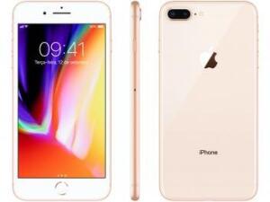 Iphone 8 Plus - Apple - Dourado Tela 5,5 | R$ 2.836