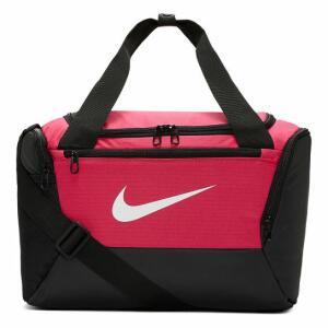 [APP] Bolsa Nike Brasilia Xs Duff 9.0 - 25 Litros - Rosa e Preto   R$ 81