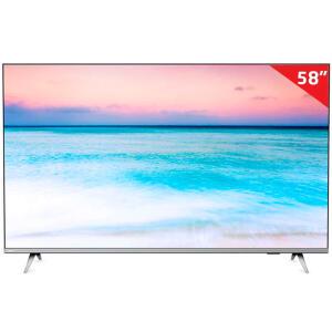 "Smart TV Philips 4K UHD 58"" 58PUG6654/78 | R$2.699"