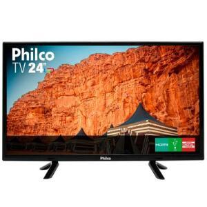 TV Philco 24 Polegadas Led HD PTV24C10D Preta Bivolt | R$490