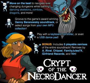 Crypt of the NecroDancer - Steam | R$5