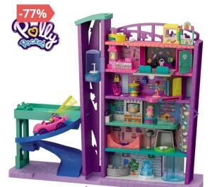 Playset e Mini Boneca - Polly Pocket - Pollyville - Mega Shopping - Mattel