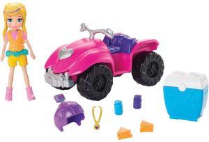[Prime] Polly Pocket! Quadriciclo Fabuloso Gdm13 Mattel R$ 50