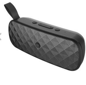 Caixa de som Bluetooth Motorola Sonic Play+ R$ 142